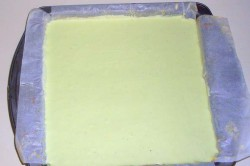 Příprava receptu Luxusní pistáciové řezy se zeleným čajem, krok 4