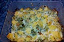 Příprava receptu Zapečené brambory s brokolicí a sýrem, krok 2