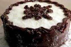 Příprava receptu Čokoládovo-kokosový dort, krok 2