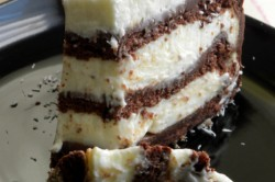 Příprava receptu Čokoládovo-kokosový dort, krok 3