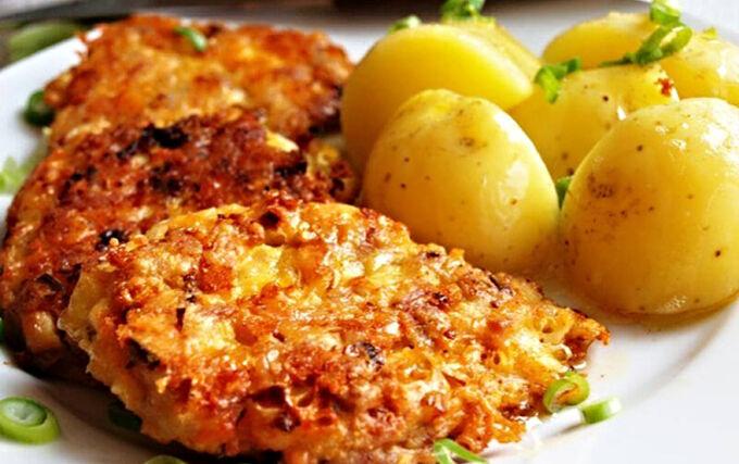 Recept Kuřecí placičky se sýrem