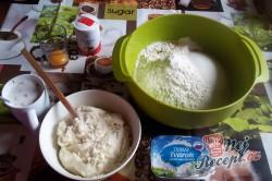 Příprava receptu Tvarohové buchtičky od babičky - fotopostup, krok 2