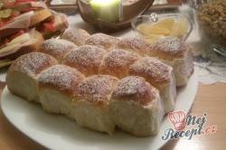 Příprava receptu Tvarohové buchtičky od babičky - fotopostup, krok 16