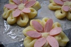 Příprava receptu Netradiční příloha z klasických surovin - kytičky pro radost, krok 3