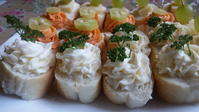 Recept Slané kanapky - Rychlé pohoštění pro návštěvu