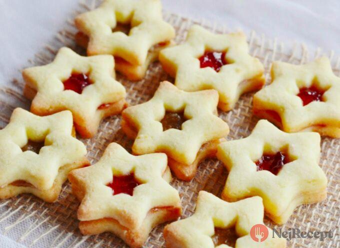 Recept Moje linecké vánoční cukroví