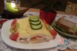 Příprava receptu Plněná sýrová roláda, krok 15