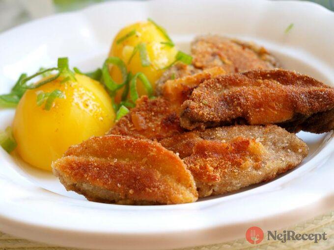 Recept Smažené hříbky s bramborem