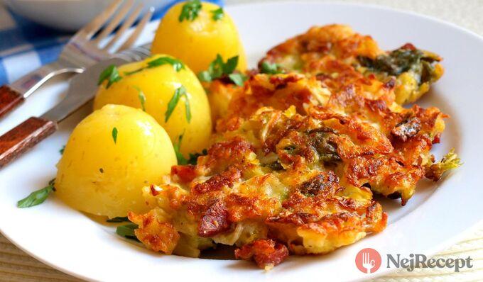 Recept Kapustové placky s bramborem