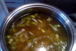Příprava receptu Porková polévka se sýrem, krok 3