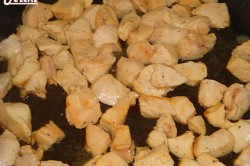 Příprava receptu Pikantní kuřecí masíčko s houbami, krok 1