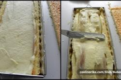 Příprava receptu Slavnostní tunel s banánem a jahodami, krok 2