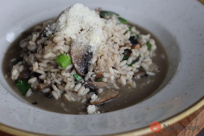 Recept Italské houbové rizoto s parmazánem