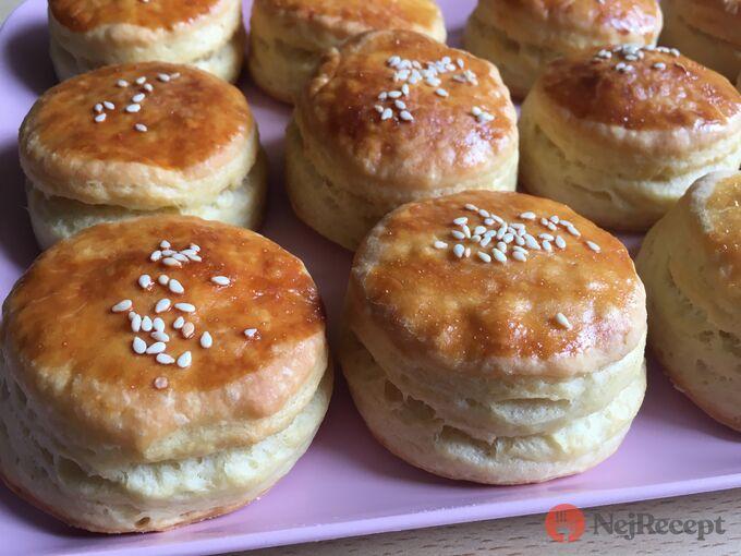 Recept Pagáče z taveného sýra a zakysané smetany