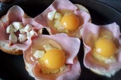 Příprava receptu Zapékané vajíčko v housce, krok 3