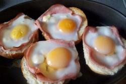 Příprava receptu Zapékané vajíčko v housce, krok 4