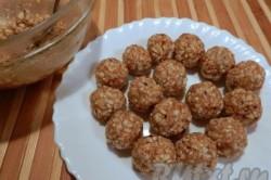 Príprava receptu Arašidové guľôčky v čokoláde hotové za 10 minút, krok 7