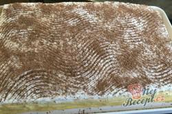 Příprava receptu Krémový broskvový zákusek s piškoty, krok 11