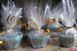 Příprava receptu Měkoučké muffinky jako pavučinka, krok 12