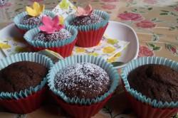 Příprava receptu Měkoučké muffinky jako pavučinka, krok 11