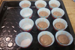 Příprava receptu Měkoučké muffinky jako pavučinka, krok 4