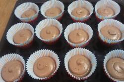Příprava receptu Měkoučké muffinky jako pavučinka, krok 5