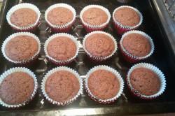 Příprava receptu Měkoučké muffinky jako pavučinka, krok 6