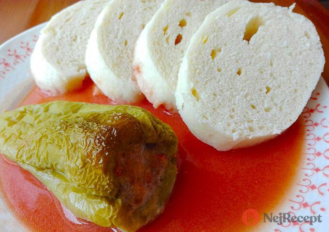 Recept Klasická rajská omáčka s paprikou a knedlíkem