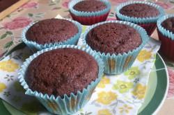 Příprava receptu Měkoučké muffinky jako pavučinka, krok 7