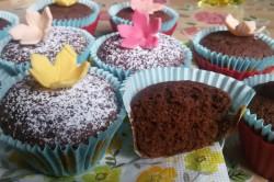 Příprava receptu Měkoučké muffinky jako pavučinka, krok 9