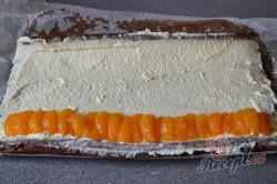 Příprava receptu Jednoduchá mandarinková roláda, krok 7