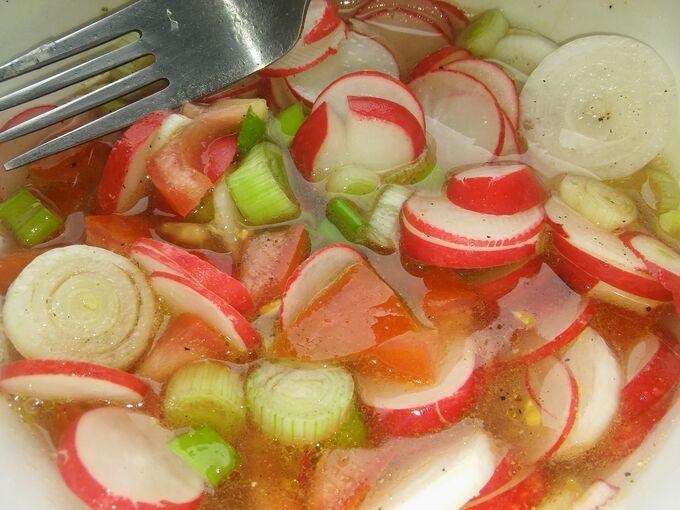 Recept Jarní salátek