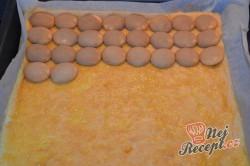 Příprava receptu Tvarohovo-šlehačkové řezy s piškoty, krok 3