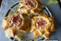Příprava receptu Kynuté sluníčka se šunkou a sýrem, krok 7