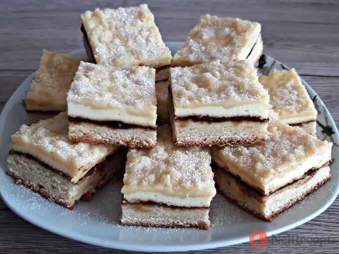 Recept Svatební koláčky na plech