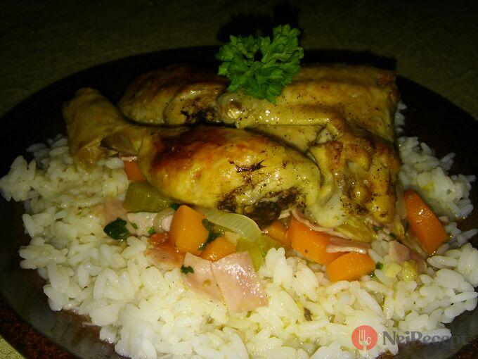 Recept Kuře na zelenině a rozmarýnu
