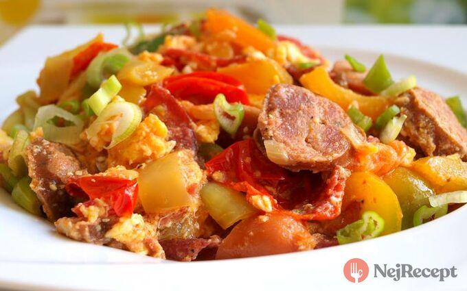 Recept Jen tak zlehka - lečo z domácí zeleniny