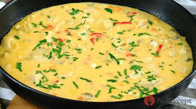 Recept Jemná omáčka s kuřecím masem na těstoviny