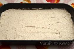 Příprava receptu Oříškové řezy se žloutkovým krémem, krok 2