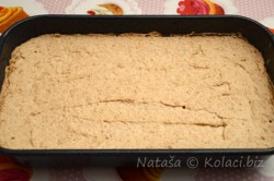 Příprava receptu Oříškové řezy se žloutkovým krémem, krok 3