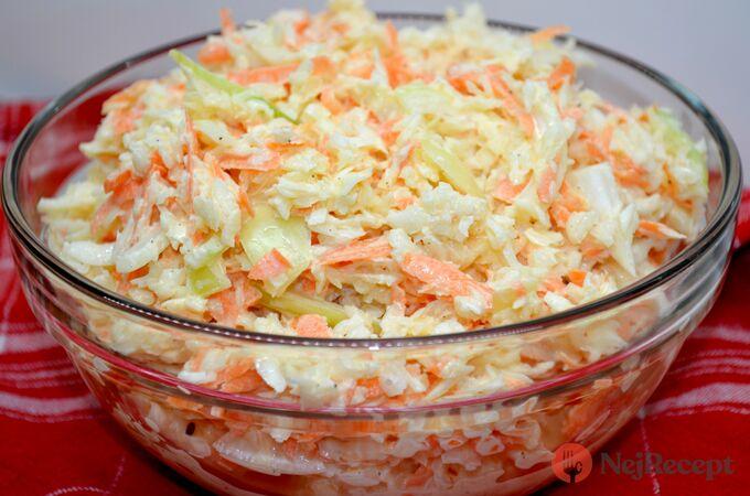 Recept Super chutný zelný salát s mrkví jako z restaurace