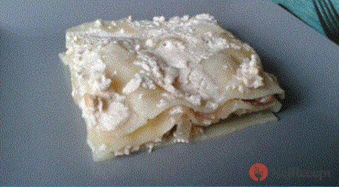 Recept Lasagne s jogurtovým tvarohem a hruškami