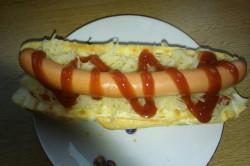 Příprava receptu Hot dog klasika a hot dog se zelím, krok 1