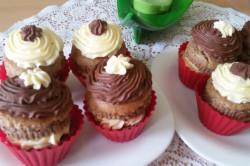 Příprava receptu Muffinky plněné vanilkovým krémem, krok 14