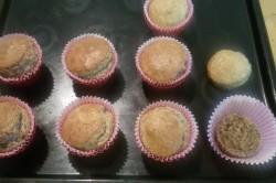 Příprava receptu Muffinky plněné vanilkovým krémem, krok 9