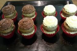 Příprava receptu Muffinky plněné vanilkovým krémem, krok 12