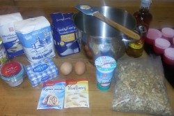 Příprava receptu Muffinky plněné vanilkovým krémem, krok 1