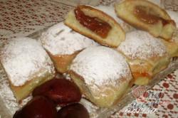 Příprava receptu Pečené buchty se švestkami, krok 12