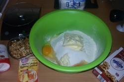 Příprava receptu Jednoduché cookies s čokoládou, krok 1