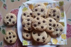 Příprava receptu Jednoduché cookies s čokoládou, krok 7